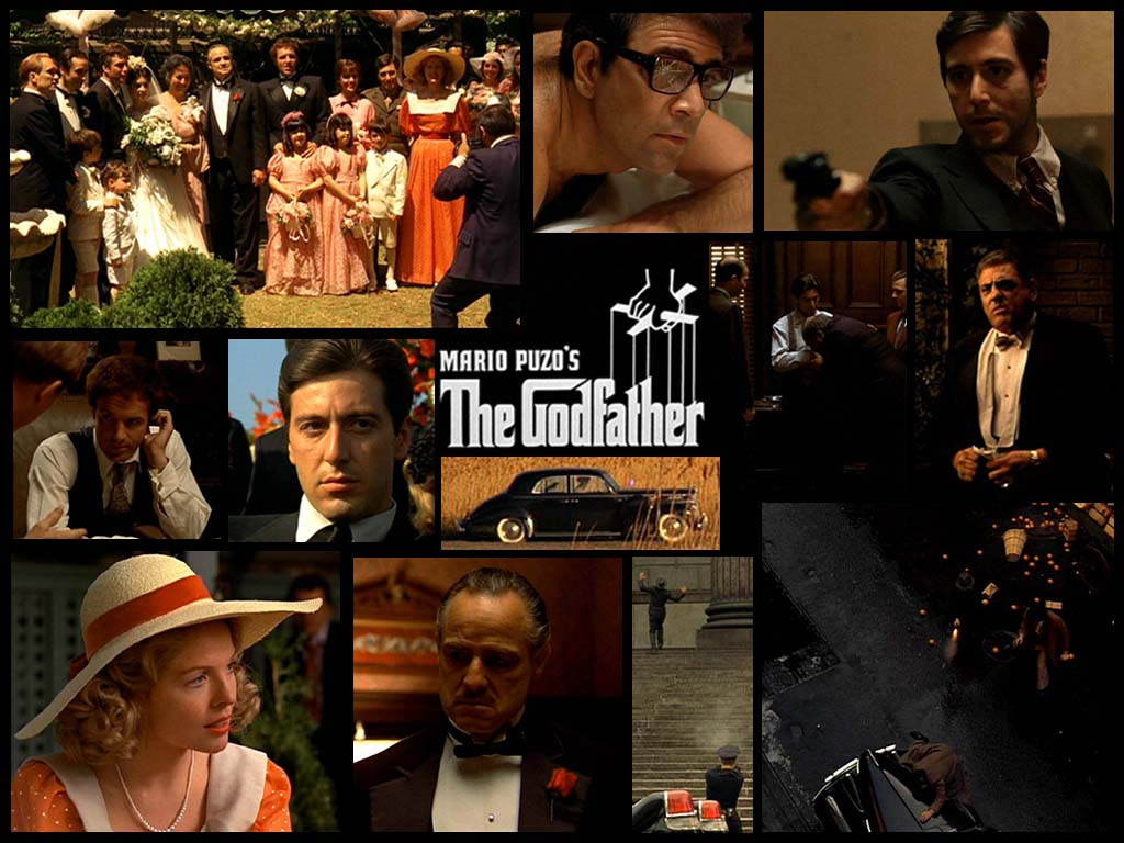 A comparison of the godfather book and movie