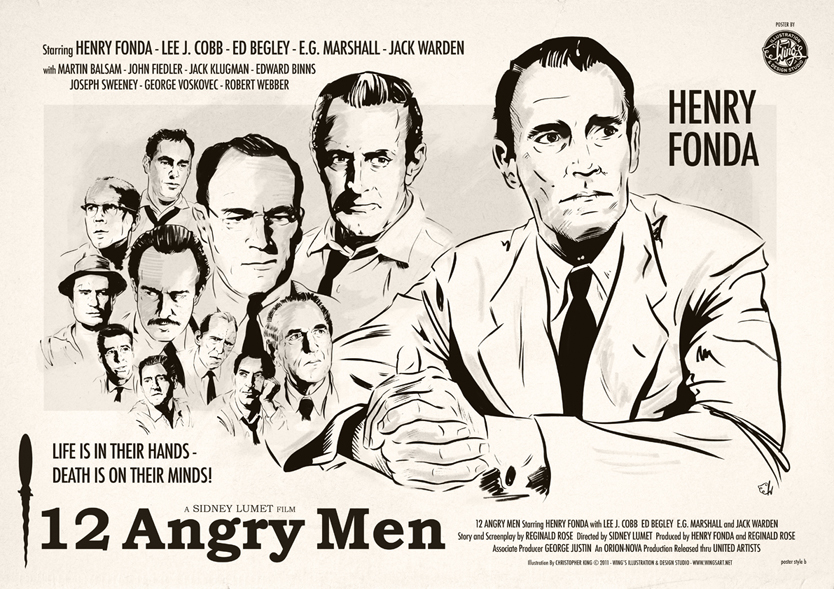 twelve angry men reflection b Middle east technical university – northern cyprus campus levent doğan –  2020188 reflection paper regarding the observation of 12 angry men movie in .