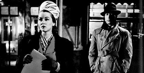 Perfectly matched amoral, ruthless Claire Trevor and Lawrence Tierney