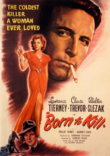 BORN TO KILL  - hi res poster scan