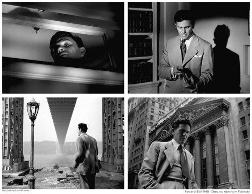 A memorable, corrupt John Garfield as Joe Morse