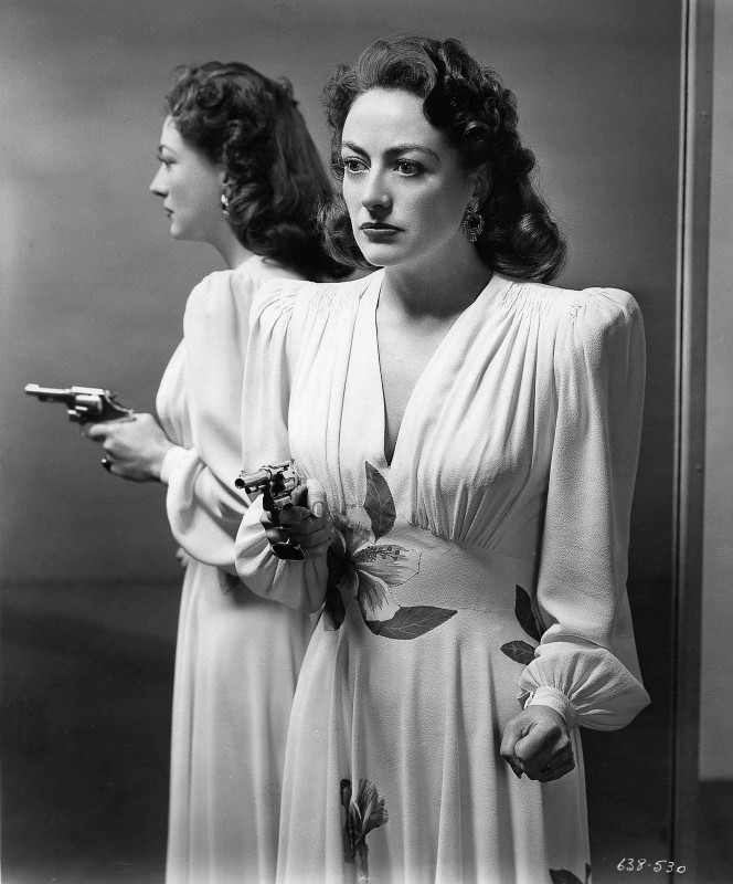 Joan Crawford is Mildred Pierce