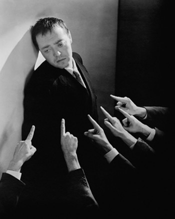 Peter Lorre is Roderick Raskolnikov