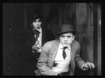 Elmer Booth as gang leader, Snapper Kid