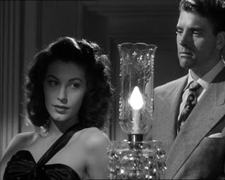 Ava Gardner as Kitty Collins and Burt Lancaster as 'The Swede'