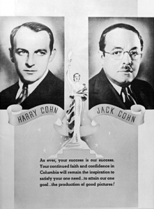 Press release on early success of Columbia Pictures