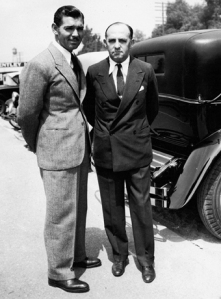 Clark Gable with Cohn
