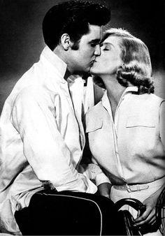 Lizabeth Scott and Elvis Presley in Loving You 1957