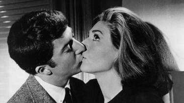The Graduate kisses Mrs Robinson