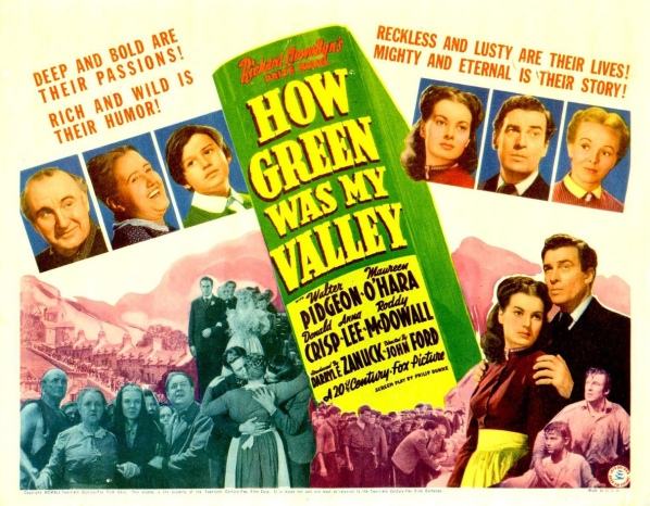 Poster - How Green Was My Valley_02