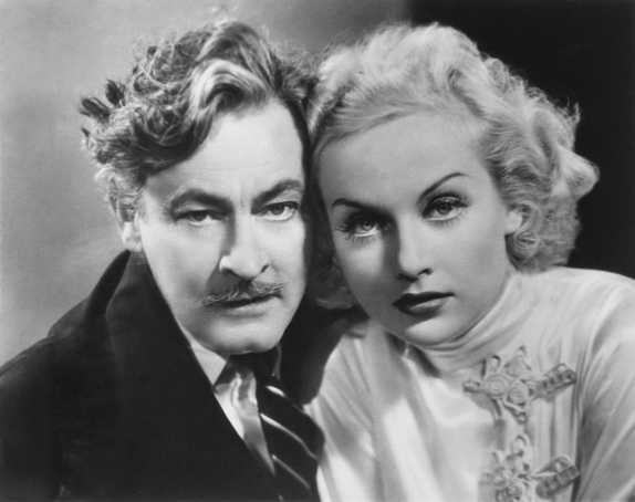 John Barrymore and Carole Lombard