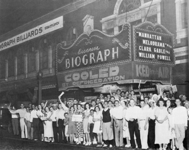 Chicago film history - the Biograph Theater