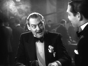 Barrymore as Ashe tells Wilfong he's overstepped his boundaries