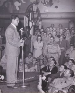 John Garfield at the Hollywood Canteen photo by Joseph Jasgur