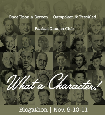 What a Character! Blogathon Nov. 9-11