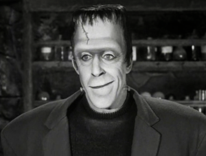 Herman Munster played by Fred Gwynne