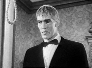 Ted Cassidy played Lurch on The Addams Family