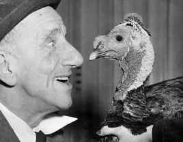 Jimmy Durante Face to Face with Turkey