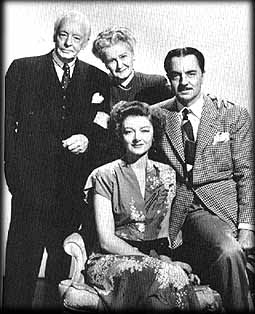 In THE THIN MAN GOES HOME - Loy, Powell, Davenport and Lucille Watson