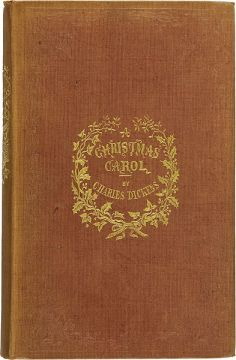 First edition cover - A Christmas Carol