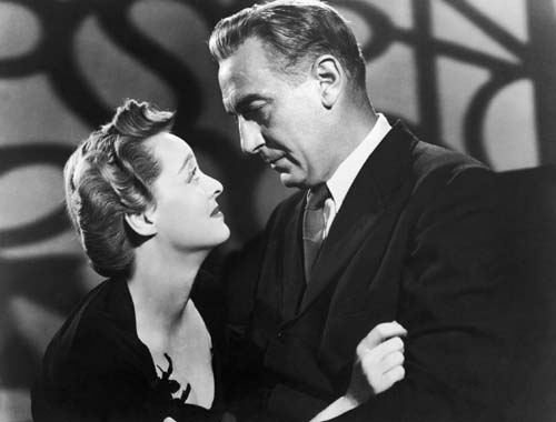 Bette Davis and Paul Lucas in WATCH ON THE RHINE