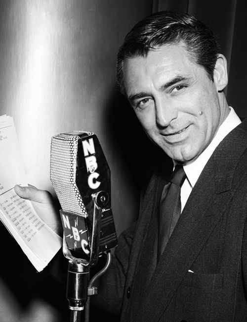 The Inimitable Voice of Cary Grant…On the Radio
