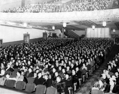 Movie attendance soared during The War Years