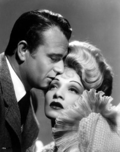 With Marlene Dietrich in The Spoilers (1942)