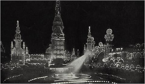 Luna Park in 1908