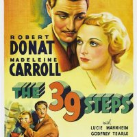 Just another Hitchcock spy story....The 39 Steps