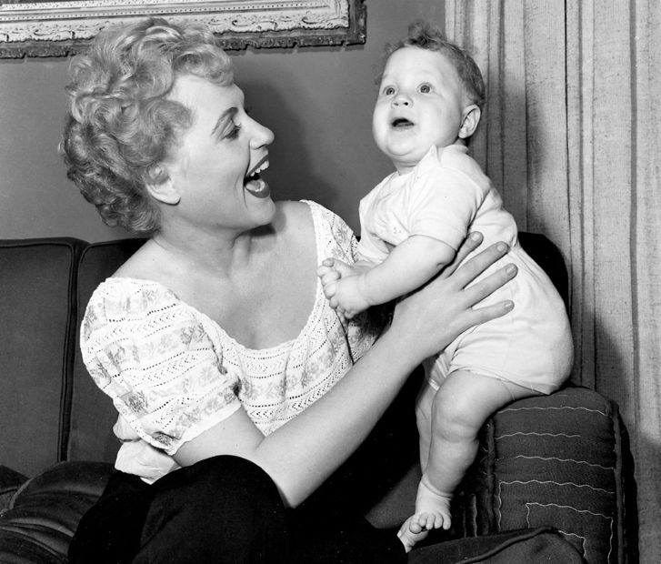 Vintage Mother And Son