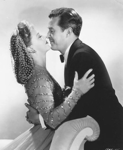 Publicity still - Rogers and Milland
