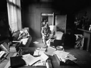 Wilder and Bracket in their office