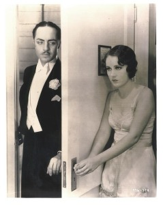 Bill Powell with Fay Wray in POINTED HEELS (1929)
