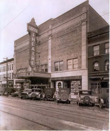 The Capitol Theatre in days gone by