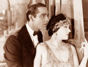 Moreno with Gloria Swanson in MY AMERICAN WIFE (1923)