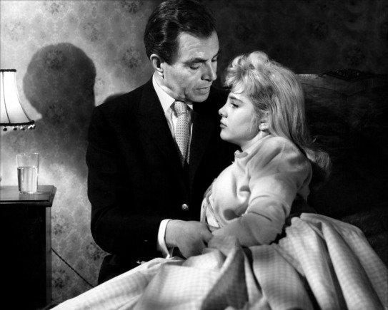 James Mason and Sue Lyon as Humbert Humbert and Lolita