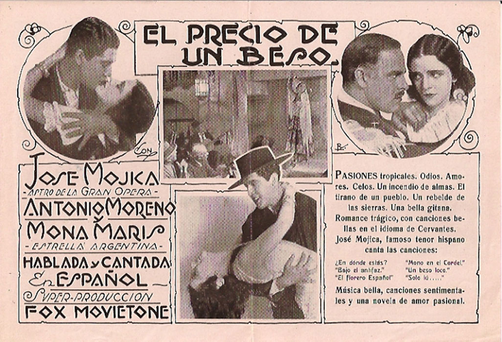 Antonio Moreno and The Story of Spanish-language Hollywood, Pt. 1