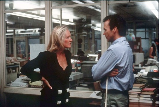 Glenn-Close-and-Michael-Keaton-in-The-Paper
