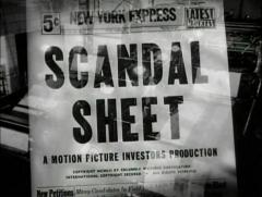 scandal sheet 1