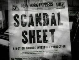 scandal sheet 1