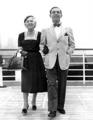Eddie and Ida Cantor in 1952