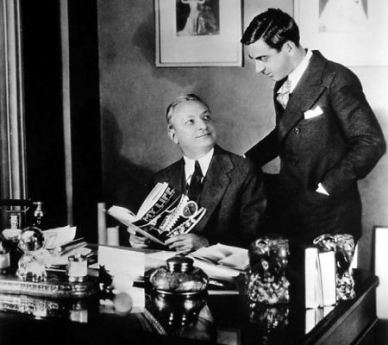With Florenz Ziegfeld