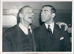 With good friend, Jimmy Durante