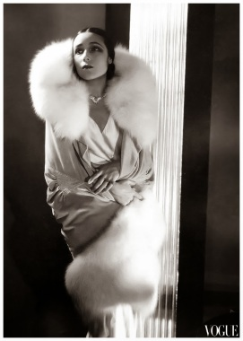 Dolores Del Río in Vogue in 1929
