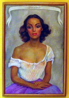 Dolores painted by Diego Rivera