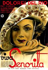 German poster for IN CALIENTE (1935)