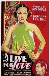 I Live For Love 1935