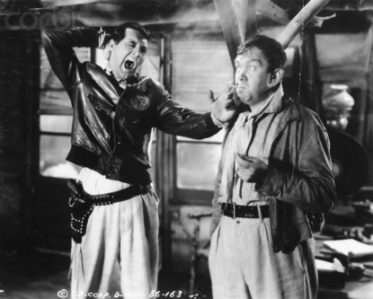 Cary Grant and Thomas Mitchell in Only Angels Have Wings
