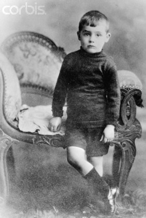 ca. 1910 — Portrait of Young Cary Grant Then Known as Archie Leach — Image by © Bettmann/CORBIS